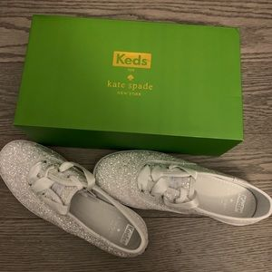 Kate Spade  Keds Champion Glitter Sneaker Wedding